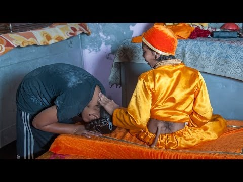 Indian Teen With 'Tail' Worshipped As God