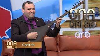 Aşıq Namiqdən möhtəşəm CANLI İFA - Ona qalsa