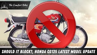 Honda CG125 2020 Model Update || Latest Update About Honda Bikes || Comfort Rides