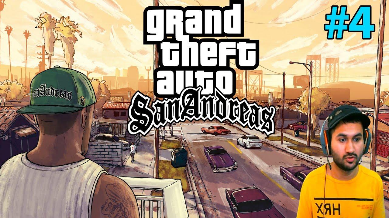 GTA : SAN ANDREAS HD GRAPHICS GAMEPLAY #4