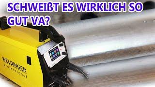 MAG Edelstahl  schweißen mit Puls +ohne Spritzer - MEW 212 SYN Puls pro von Weldinger