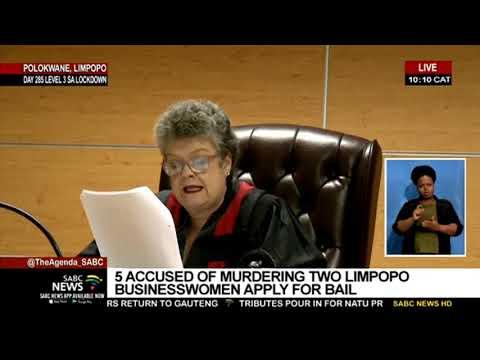 Five men accused of murdering two businesswomen in Limpopo denied bail