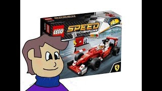 Lego Speed Champions 75879 Scuderia Ferrari SF16-H [REVIEW]
