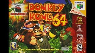 Donkey Kong 64 Playthrough (Reboot) Live Streaming Part 13