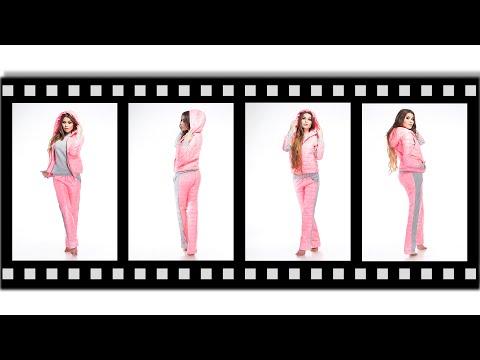 Женские спортивные костюмы тройка - 7624