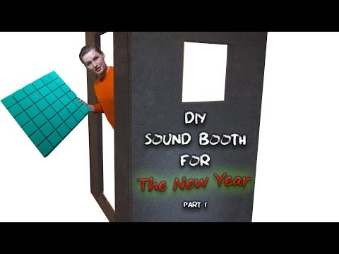 "Building a ""Soundproof"" Vocal Recording Booth, Timelapse (Part 1)"