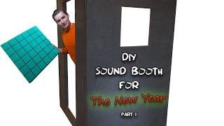 "Building a DIY ""Soundproof"" Home Vocal Recording Studio (Part 1)"