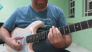 """Guitarra, Aula 68.a - """"Chitlins Com Carne"""", Kurt Burrel."""