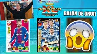 PACK OPENING ONLINE Y BALN DE ORO Adrenalyn XL 2018 Liga Santander