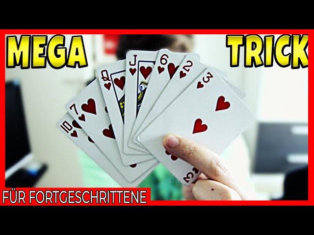 Der Zuschauer macht den Trick, IHR bekommt den APPLAUS! - Kartentrick Erklärung