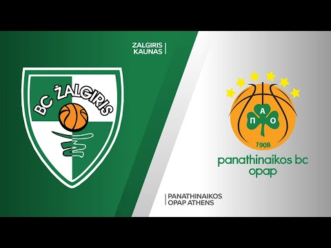 Zalgiris Kaunas - Panathinaikos OPAP Athens Highlights | Turkish Airlines EuroLeague, RS Round 34