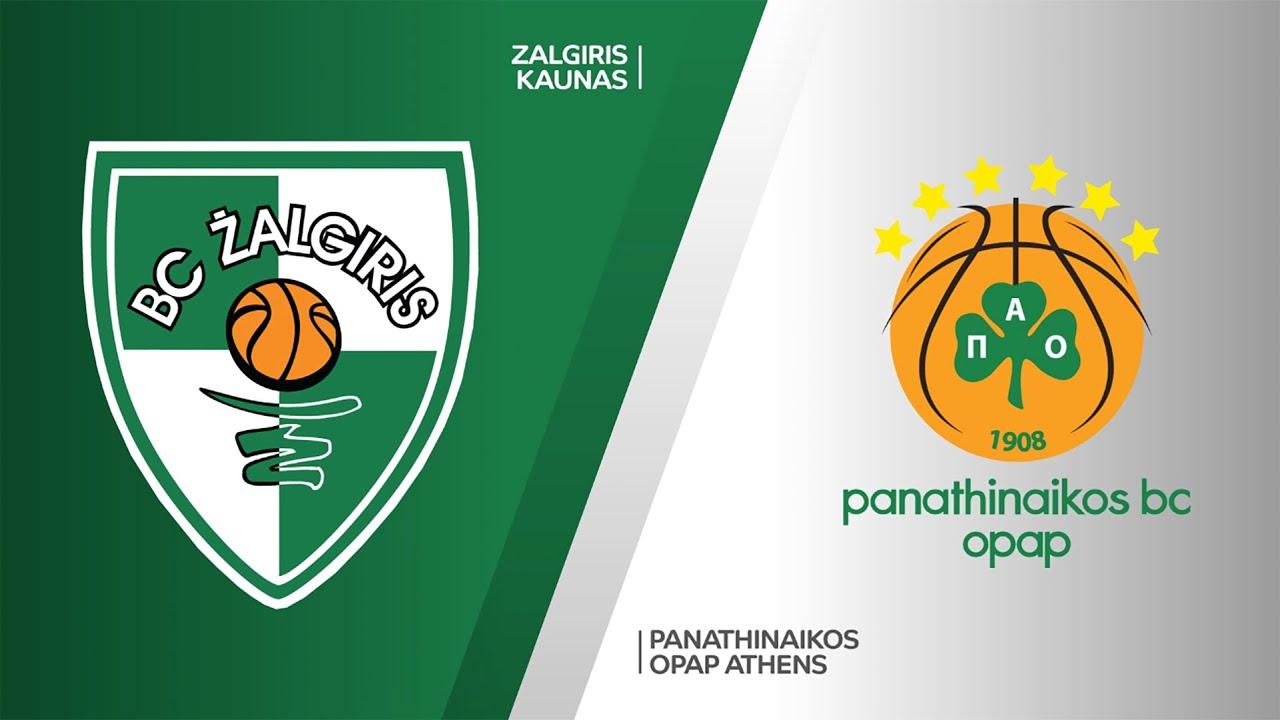 Zalgiris Kaunas - Panathinaikos OPAP Athens Highlights | Turkish Airlines EuroLeague, RS Round 34