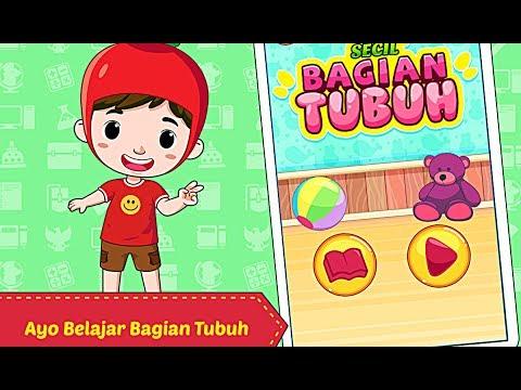 Belajar Bagian Tubuh - Game Edukasi Anak Belajar Mengenal Bagian Tubuh