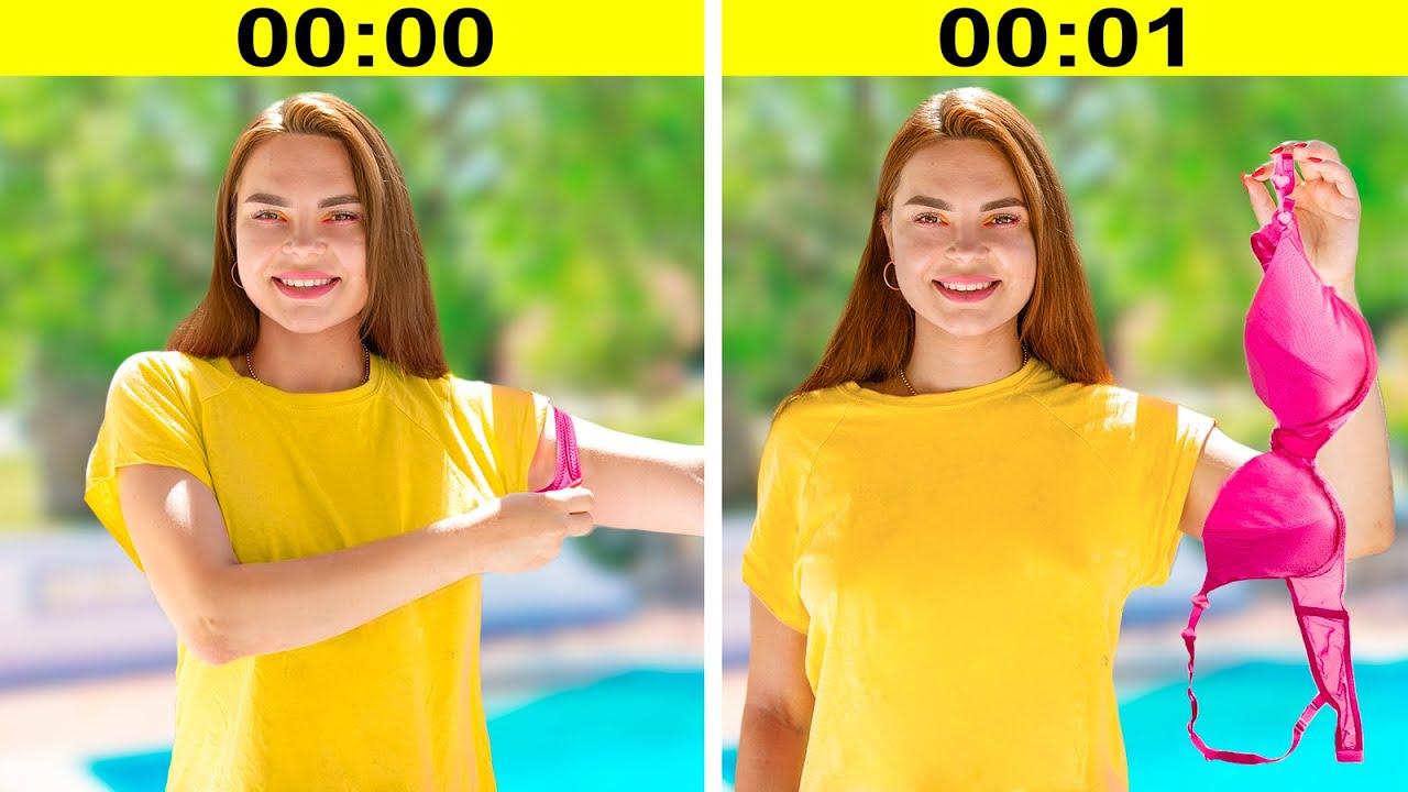 14 Situações de Verão Estranhas que Toda Garota Pode Se Identificar