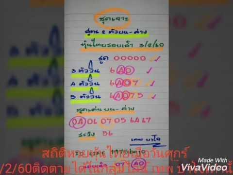 สถิติหวยหุ้นไทยวันศุกร์ในกลุ่มไลน์ เทพ บาโจ