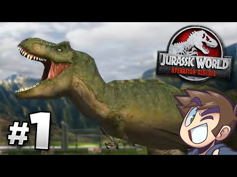 The Park Is Open! - Jurassic World Operation Genesis | Jurassic Month