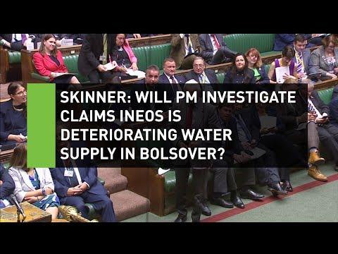 Dennis Skinner demands May looks into INEOS in Bolsover