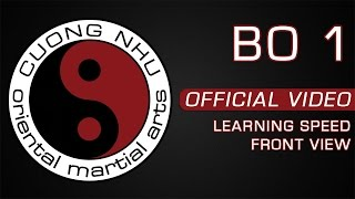 Cuong Nhu Bo 1 - Official Kata - Learning Speed - Front View