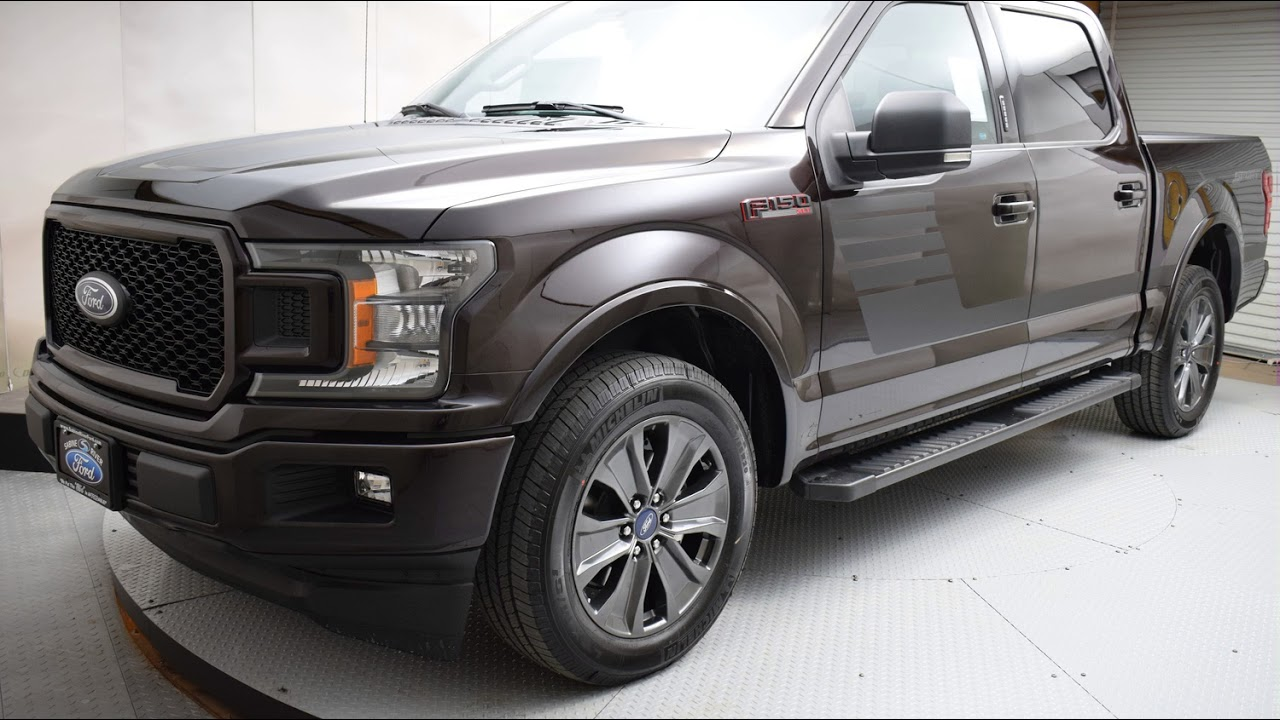 2018 Magma Red Ford F-150 4D SuperCrew #6878 - YouTube
