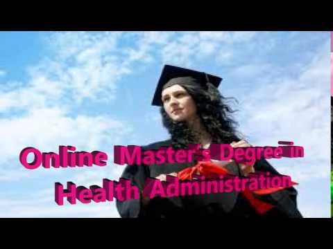 Online Master's Degree in Health Administration| Best Online Degree Programme & Begining Salary