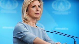 Еженедельный брифинг Марии Захаровой от 20 02 2020 Полное видео