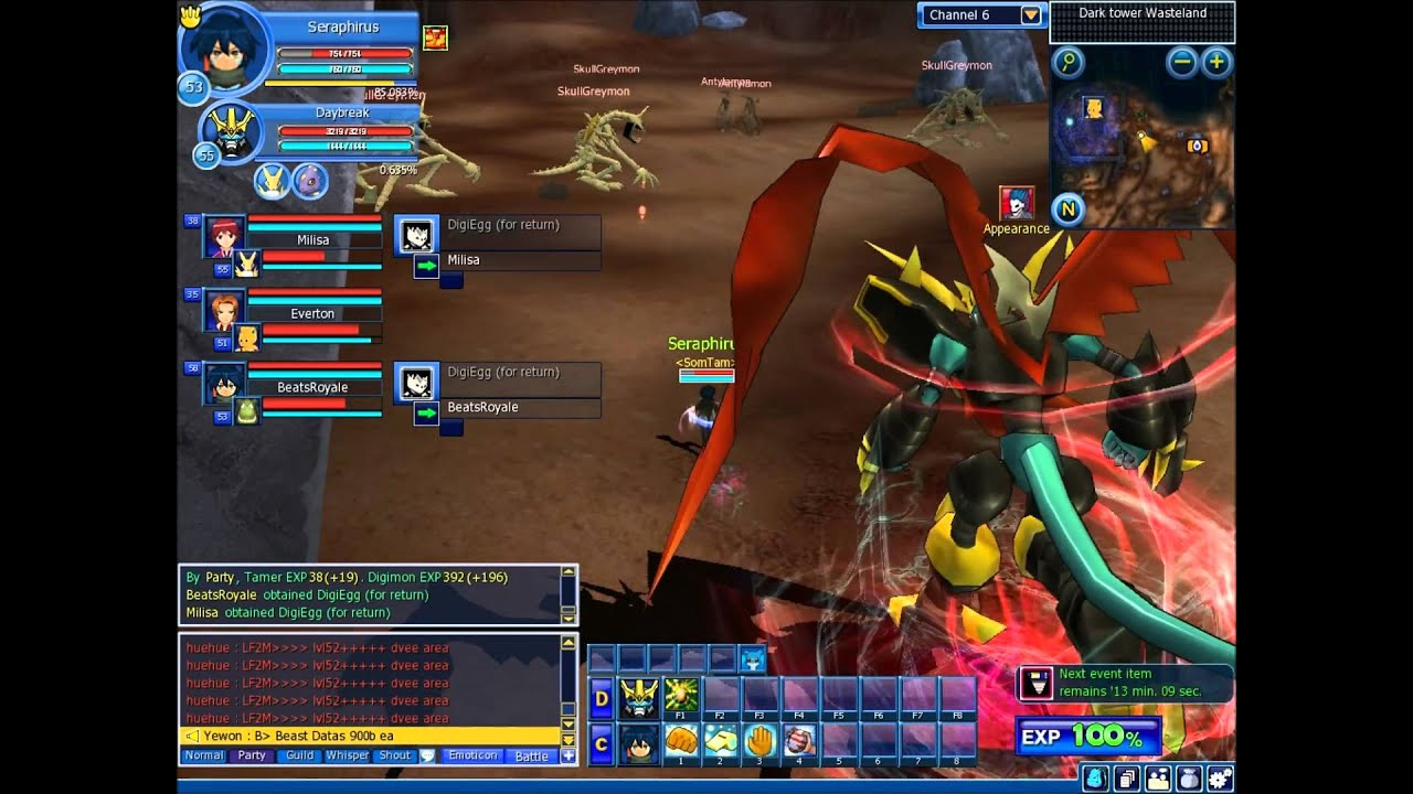 Digimon Masters Online - Getting Imperialdramon Fighter ...
