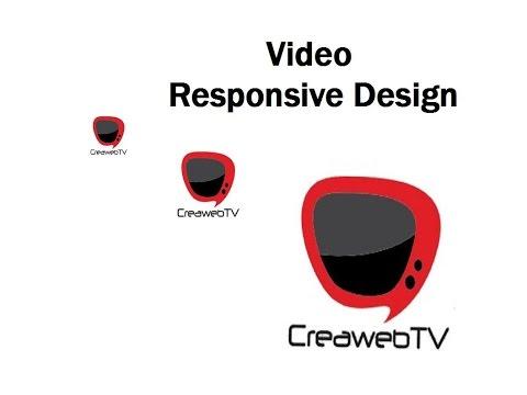 Hacer video responsive design en canal streaming web TV Selecaster