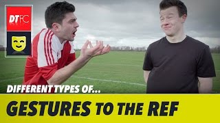 Football's funniest gestures to the referee   Classic Sunday League