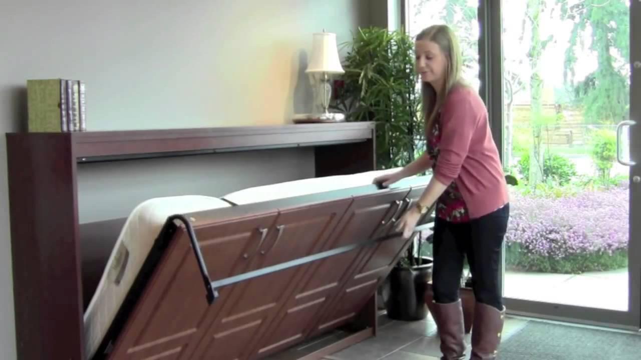 櫥櫃行活動床展示 Youtube