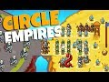 ATTACK of the DRAGON ARMY! - Circle Empires Gameplay