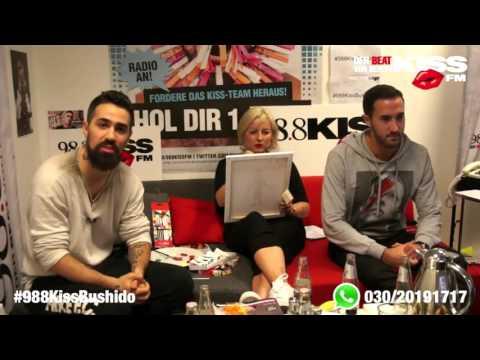 Bushido & Kay One beim 98 Stunden Interview bei Kiss FM