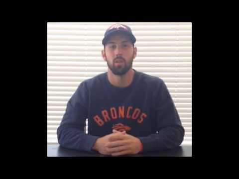 Brandon McManus kicker for the Denver Broncos Anti Bully Squad