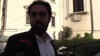 """Funerale Nadia Toffa, gli abbracci tra i colleghi Iene. Giarrusso: """"È stata esempio per tutti"""""""