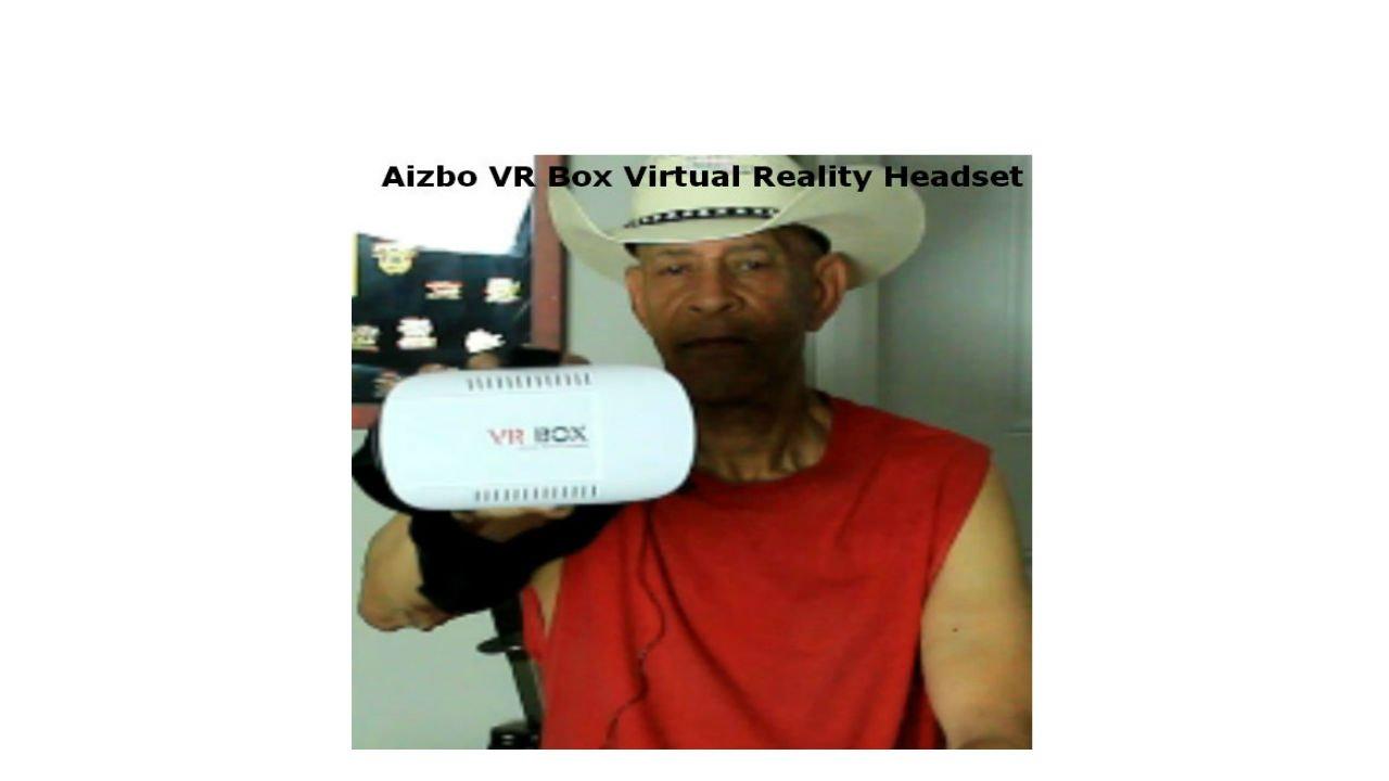 4cd1c5680be Aizbo VR Box Virtual Reality Headset - YouTube