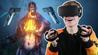 HOW TO SURVIVE A ZOMBIE APOCALYPSE!   Killing Floor: Incursion VR (Oculus Touch Gameplay)