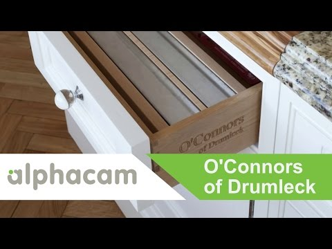 O'Connors use Alphacam & Cabinet Vision to produce high quality kitchens