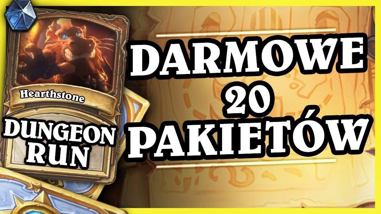 DARMOWE 20 PAKIETÓW, DODATEK, NOWE ARENY, CHINY – PALADIN –   Hearthstone Dungeon Run