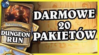 DARMOWE 20 PAKIETÓW, DODATEK, NOWE ARENY, CHINY - PALADIN - Hearthstone Dungeon Run