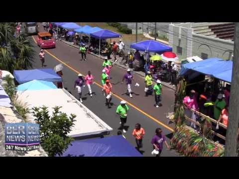 Boundary Breakers In The Bermuda Day Parade, May 26 2014