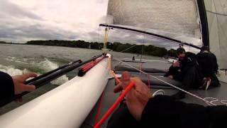 Voile : le skipper Vincent Riou s'entraîne à Saint-Quentin-en-Yvelines