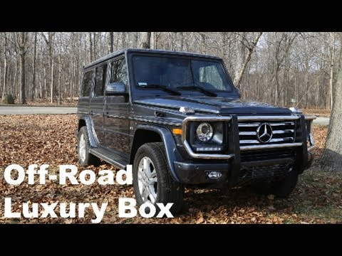 The World s Fanciest Box 15 Mercedes G550 Review