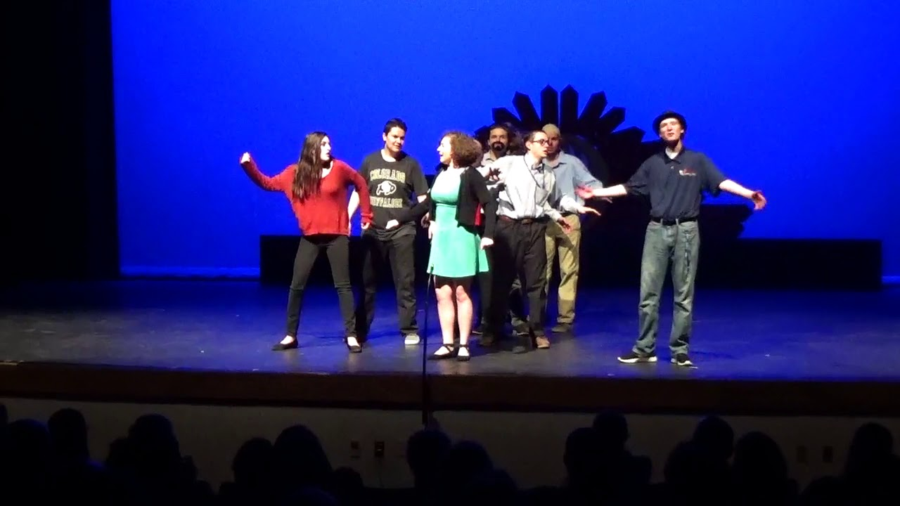 Emcee Closing Skit (Day2) - Talent Show 2018 - Chaparral High School