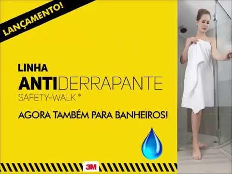 Fita 3M Safety Walk Antiderrapante para Banheiros
