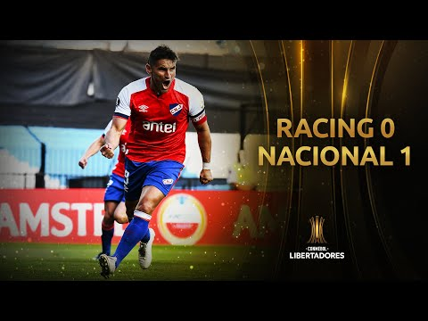 Racing vs. Nacional [0-1] | RESUMEN | Fase de Grupos | Jornada 3 | CONMEBOL Libertadores 2020