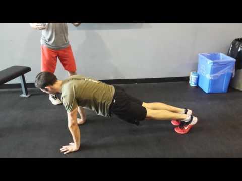 CrossFit Vaudreuil - Comment faire le parfait push-up