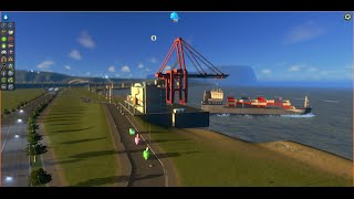 Cities: Skylines for Beginners-Tutorial #23 – SHIPPING PORTS – Cargo and Passenger