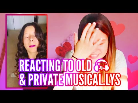 REACTING TO OLD & PRIVATE MUSICAL.LYS