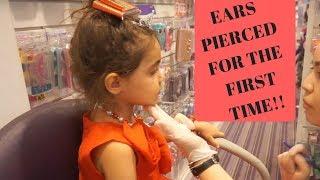 WE TAKE AVA TO GET HER EARS PIERCED!! I AllInTheFoleyFamily