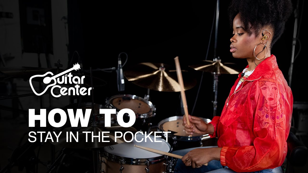 How to Stay in the Pocket with The Pocket Queen | Drum Lessons