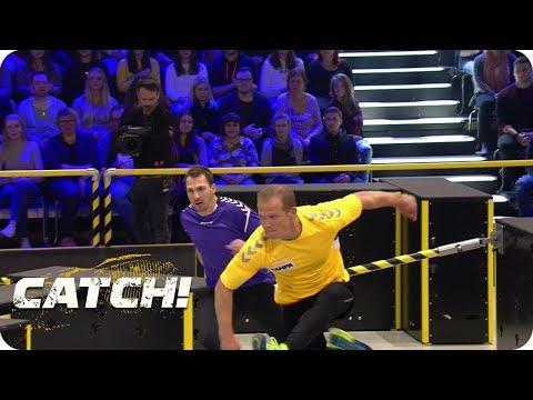 Battle mit Hindernissen zwischen Thore Schölermann und Jochen Schropp - CATCH! Die Deutsche Meister